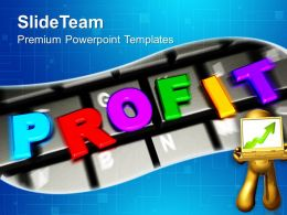 Online Business Profits Success Internet Powerpoint Templates Ppt Themes And Graphics 0113
