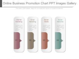 Online Business Promotion Chart Ppt Images Gallery