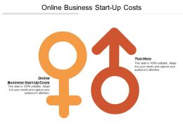 Online Business Start Up Costs Ppt Powerpoint Presentation Gallery Background Designs Cpb