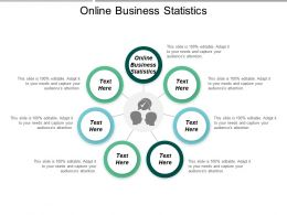 Online Business Statistics Ppt Powerpoint Presentation Ideas Template Cpb