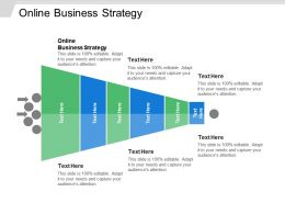 Online Business Strategy Ppt Powerpoint Presentation Ideas Slides Cpb