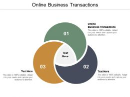 Online Business Transactionss Ppt Powerpoint Presentation Outline Example Topics Cpb