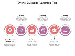 Online Business Valuation Tool Ppt Powerpoint Presentation Icon Example Cpb