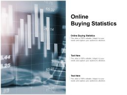 Online Buying Statistics Ppt Powerpoint Presentation Ideas Elements Cpb
