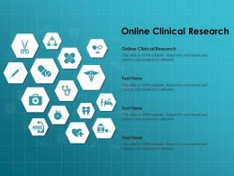 Online Clinical Research Ppt Powerpoint Presentation Infographic Template Picture