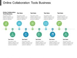 Online Collaboration Tools Business Ppt Powerpoint Presentation File Samples Cpb