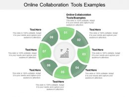 Online Collaboration Tools Examples Ppt Powerpoint Presentation Infographics Inspiration Cpb