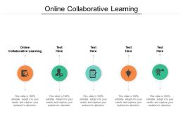 Online Collaborative Learning Ppt Powerpoint Presentation Model Samples Cpb