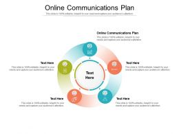 Online Communications Plan Ppt Powerpoint Presentation Show Images Cpb