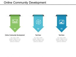 Online Community Development Ppt Powerpoint Presentation File Guide Cpb