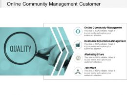 Online Community Management Customer Experience Management Marketing Share Cpb