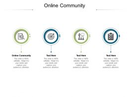 Online Community Ppt Powerpoint Presentation Model Good Cpb