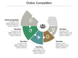 Online Competition Ppt Powerpoint Presentation Portfolio Grid Cpb