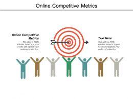Online Competitive Metrics Ppt Powerpoint Presentation Model Microsoft Cpb