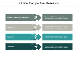 Online Competitive Research Ppt Powerpoint Presentation Infographic Template Files Cpb