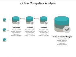 Online Competitor Analysis Ppt Powerpoint Presentation Gallery Rules Cpb
