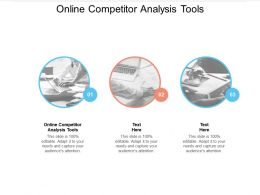Online Competitor Analysis Tools Ppt Powerpoint Presentation Icon Images Cpb