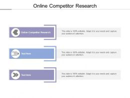 Online Competitor Research Ppt Powerpoint Presentation Layouts Templates Cpb