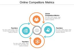 Online Competitors Metrics Ppt Powerpoint Presentation Gallery Slide Download Cpb