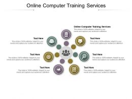 Online Computer Training Services Ppt Powerpoint Professional Model Cpb