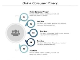 Online Consumer Privacy Ppt Powerpoint Presentation Show Example File Cpb