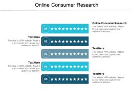 Online Consumer Research Ppt Powerpoint Presentation Summary Vector Cpb