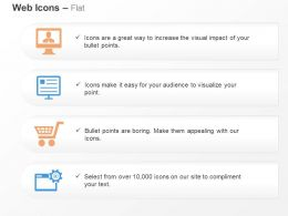 Online Content Buying Web Optimization Ppt Icons Graphics
