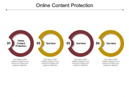 Online Content Protection Ppt Powerpoint Presentation Summary Ideas Cpb