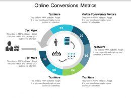 Online Conversions Metrics Ppt Powerpoint Presentation Show Infographics Cpb