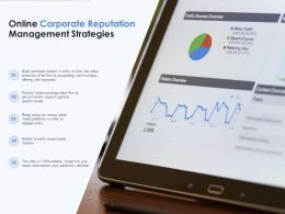 Online Corporate Reputation Management Strategies