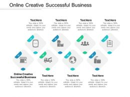 Online Creative Successful Business Ppt Powerpoint Presentation Icon Professional Cpb
