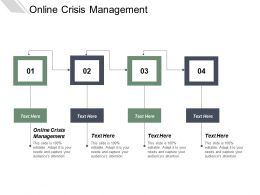 Online Crisis Management Ppt Powerpoint Presentation Show Outline Cpb