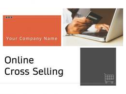 Online Cross Selling Powerpoint Presentation Slides