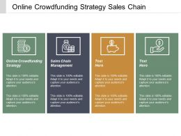 Online Crowdfunding Strategy Sales Chain Management Inventory Management Cpb