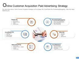 Online Customer Acquisition Paid Advertising Strategy Series Ppt Powerpoint Good