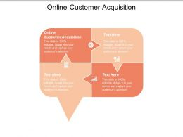 Online Customer Acquisition Ppt Powerpoint Presentation Infographics Graphics Template Cpb