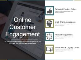 Online Customer Engagement Ppt Example 2017
