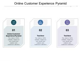 Online Customer Experience Pyramid Ppt Powerpoint Presentation Ideas Graphics Download Cpb