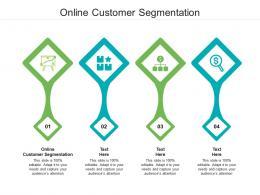 Online Customer Segmentation Ppt Powerpoint Presentation Show Rules Cpb