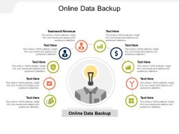 Online Data Backup Ppt Powerpoint Presentation Portfolio Visuals Cpb
