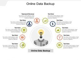 Online Data Backup Ppt Powerpoint Presentation Portfolio Visuals Cpb
