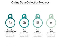 Online Data Collection Methods Ppt Powerpoint Presentation Summary Show Cpb