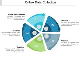 Online Data Collection Ppt Powerpoint Presentation Styles Graphics Example Cpb