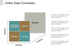 Online Data Conversion Ppt Powerpoint Presentation Gallery Samples Cpb