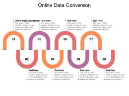 Online Data Conversion Ppt Powerpoint Presentation Inspiration Tips Cpb
