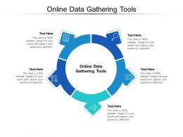 Online Data Gathering Tools Ppt Powerpoint Presentation Infographic Slide Cpb