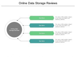 Online Data Storage Reviews Ppt Powerpoint Presentation Infographics Show Cpb