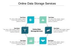 Online Data Storage Services Ppt Powerpoint Presentation Portfolio Graphics Example Cpb