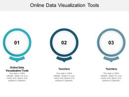 Online Data Visualization Tools Ppt Powerpoint Presentation Infographic Cpb