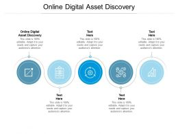 Online Digital Asset Discovery Ppt Powerpoint Presentation Show Brochure Cpb